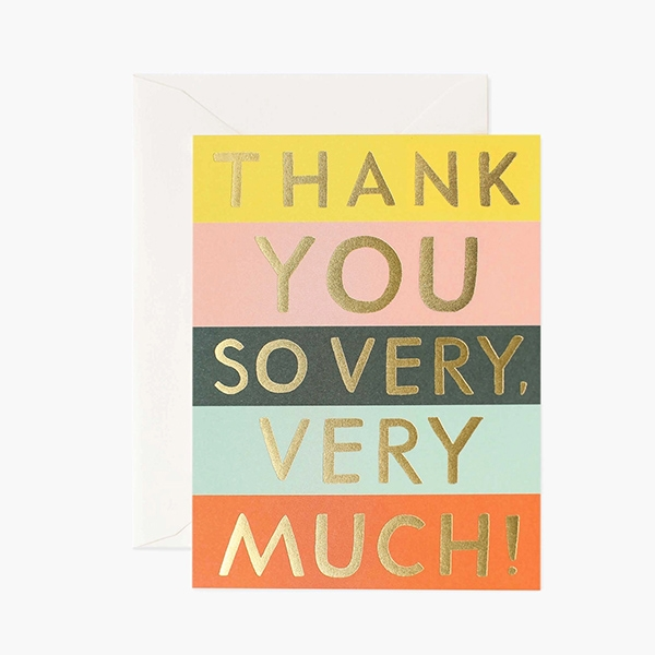 Color Block Thank You Card_RPGCT021