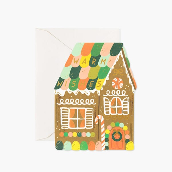 Gingerbread House Card_RPGCX045