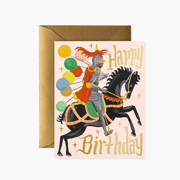 KNIGHT BIRTHDAY CARD_RPSS2106