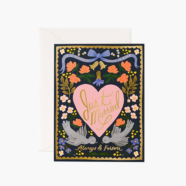 LOVE BIRDS CARD_RPSS2118