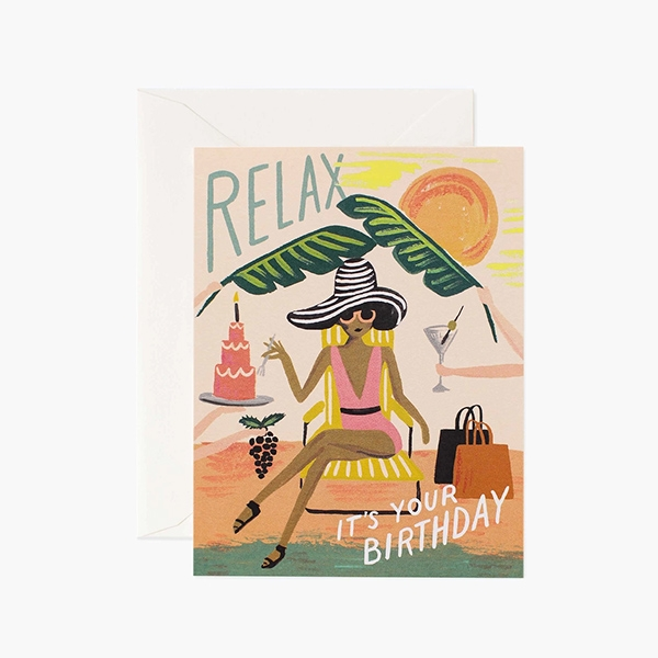RELAX BIRTHDAY CARD_RPSS2102