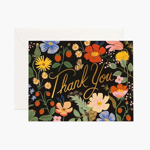Strawberry Fields Thank You Card_RPGCT048